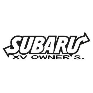 スバル(スバル)のSUBARU XV OWNER'S Black sticker【黒】(その他)