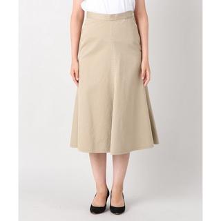 プラージュ(Plage)のPlage コットンチノミディーフレアースカート 定価17,280円(ひざ丈スカート)