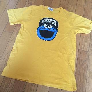 SESAME STREET - セサミストリート クッキーモンスター Tシャツ サイズM