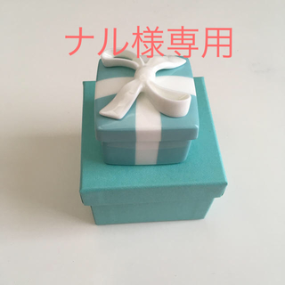 ティファニー(Tiffany & Co.)のティファニー 陶器小物入れ ブルーボウボックス(小物入れ)
