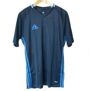 アディダス(adidas)の大きいサイズ新品XO★アディダス紺色クライマクールVネックT(Tシャツ/カットソー(半袖/袖なし))