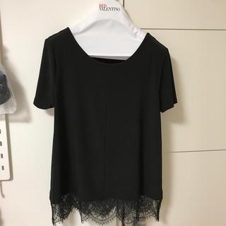 バーニーズニューヨーク(BARNEYS NEW YORK)のニューヨークデパート購入 レースTシャツ(Tシャツ(半袖/袖なし))