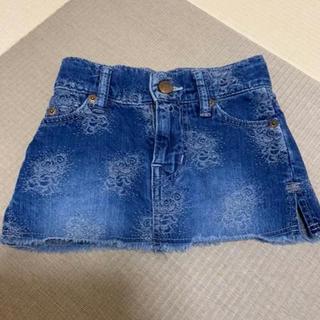 ヒステリックミニ(HYSTERIC MINI)のヒスミニ ミニスカート 100センチ(スカート)