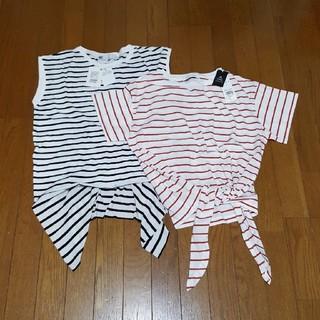 スライ(SLY)のボーダー セット(Tシャツ(半袖/袖なし))