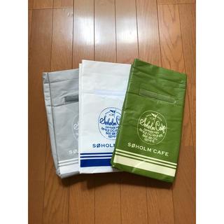 アクタス(ACTUS)のスーホルムカフェ  保冷バッグ 3色セット!!(弁当用品)
