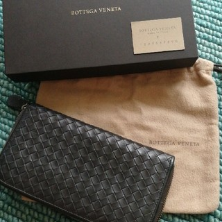 a638bdcab1a3 ボッテガヴェネタ(Bottega Veneta)のボッテガヴェネタ長財布(ラウンドファスナー) イントレ
