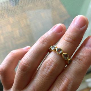 ホワイトトパーズ フルエタニティリング  (リング(指輪))