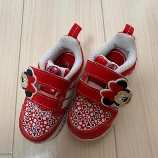 アディダス(adidas)のミニーのスニーカー☆13.5センチ(スニーカー)
