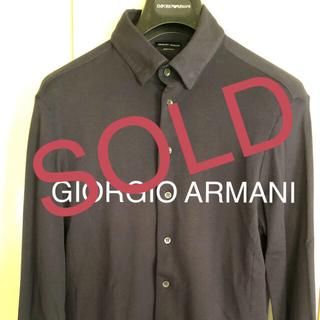 ジョルジオアルマーニ(Giorgio Armani)のGIORGIO ARMANI ピケコットン(シャツ)