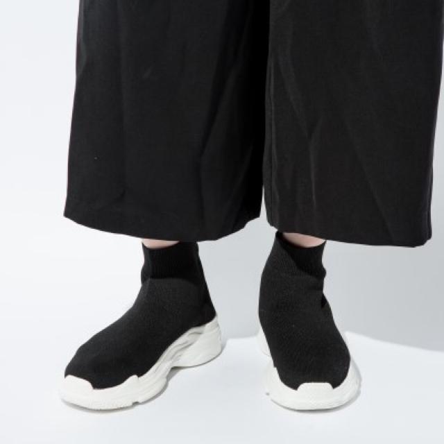 しまむら(シマムラ)のしまむら ソックススニーカー LL レディースの靴/シューズ(スニーカー)の商品写真