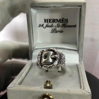 エルメス(Hermes)のvintage HERMES エルメス ベルト リング 正規品(リング(指輪))