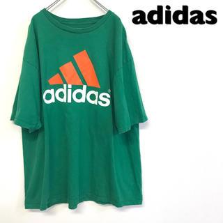 アディダス(adidas)の美品 adidas Tシャツ パフォーマンスロゴ(Tシャツ/カットソー(半袖/袖なし))