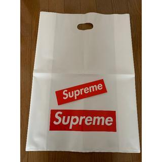 シュプリーム(Supreme)のSUPREME 袋(大)とステッカー(その他)