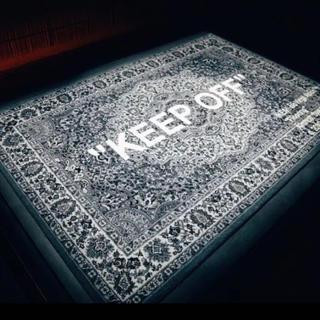 """オフホワイト(OFF-WHITE)のIKEAxVirgil Abloh """"KEEP OFF"""" ヴァージル  ラグ(ラグ)"""