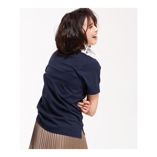 ナノユニバース(nano・universe)の新品タグ付 春夏秋に◎ オーストラリアコットンクルーネックTee/C (427(Tシャツ(半袖/袖なし))