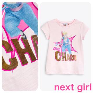 トイストーリー(トイ・ストーリー)の【新品】ピンク Toy Story チャージTシャツ(オールド)(Tシャツ/カットソー)