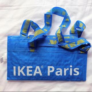 イケア(IKEA)の限定 新品 ♡ IKEA バッグ フランス パリ / イケア ブルー paris(日用品/生活雑貨)