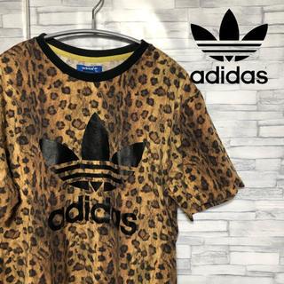 アディダス(adidas)のcharco様専用 adidas トレフォイル レオパード 半袖 Tシャツ (Tシャツ/カットソー(半袖/袖なし))