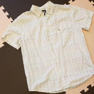 グラニフ(Design Tshirts Store graniph)のグラニフ ドット柄半袖シャツ S(シャツ/ブラウス(半袖/袖なし))