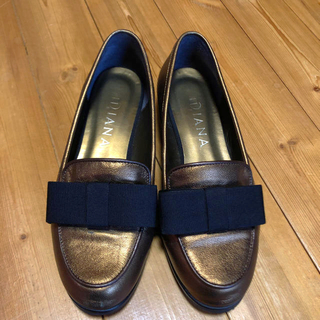 ダイアナ(DIANA)のDIANA  ダイアナ  ローファー リボン(ローファー/革靴)