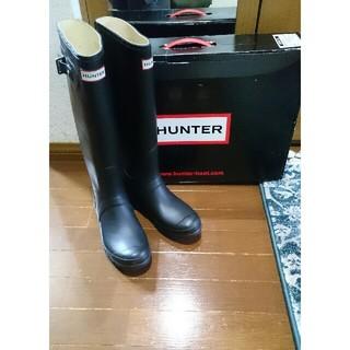 ハンター(HUNTER)のHUNTER ハンター ロングブーツ レインブーツ ブーツ 未使用(レインブーツ/長靴)