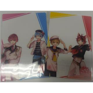 すとぷり  クリアカード クリアファイル 4種 ファミマキャンペーン(キャラクターグッズ)