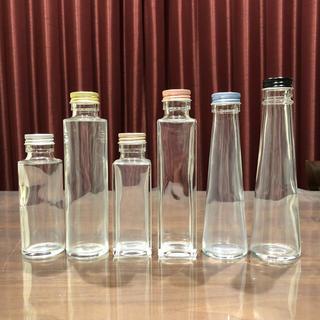 *消毒済み*選べるハーバリウム 瓶 &フタ*各6種類*5本セット*(その他)