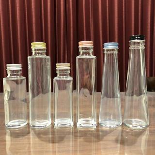 *消毒済み*選べるハーバリウム 瓶 &フタ*各6種類*10本セット*(その他)