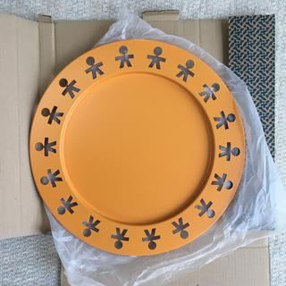 アレッシィ(ALESSI)のALESSI ラウンドトレイ お盆 GIROTONDO オレンジ(テーブル用品)