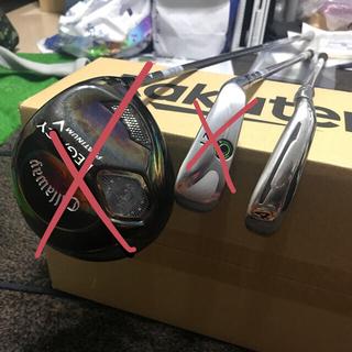キャロウェイゴルフ(Callaway Golf)の最終値下!ドライバー、UT、アイアン豪華セット 8000円相当未使用品のおまけ付(クラブ)
