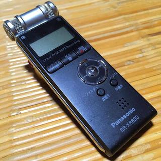 パナソニック(Panasonic)のPanasonic ICボイスレコーダー 携帯 モバイル 音声録音 USB付き(ポータブルプレーヤー)