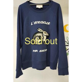 グッチ(Gucci)のGUCCI embroidered rabbit sweatshirt(スウェット)