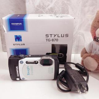 OLYMPUS - OLYMPUS TG-870 Tough 防水 コンパクトデジカメ