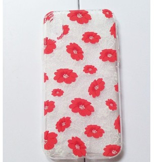 マリメッコ(marimekko)の花柄 iPhoneカバー(iPhoneケース)