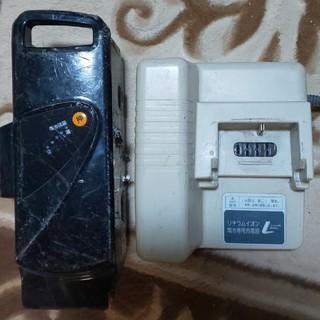 パナソニック(Panasonic)のパナソニック 電動自転車 充電器 バッテリー(パーツ)