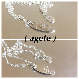 アガット(agete)のageteアガットsilverネックレス(ネックレス)