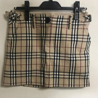 バーバリー(BURBERRY)のバーバリー スカート 36(ミニスカート)