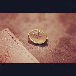 マザー(mother)のMAIDEN  クロス モチーフ リング R-5(リング(指輪))