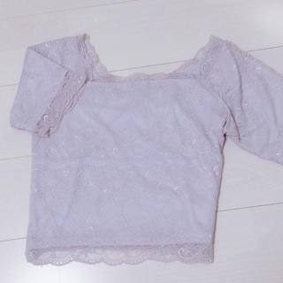 ミスティウーマン(mysty woman)の総レースT♡(Tシャツ(半袖/袖なし))