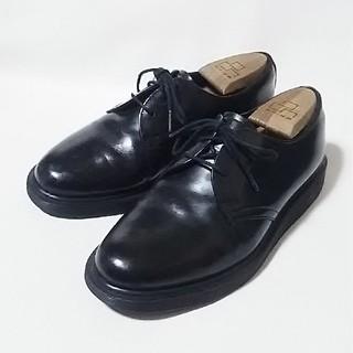 ドクターマーチン(Dr.Martens)の 王道デザイン!ドクターマーチン高級3ホールローファー人気の黒!   (ローファー/革靴)