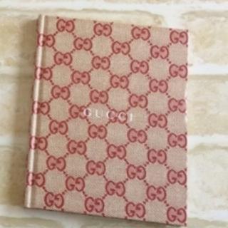 グッチ(Gucci)の【GUCCI+ZUCCA】メモ帳+ノート☆セットで提供(ノート/メモ帳/ふせん)