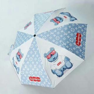 ルイヴィトン(LOUIS VUITTON)のLV   傘 自動開閉 軽量 雨傘 遮光 UVカット 晴雨兼用(傘)