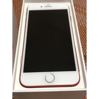 アップル(Apple)のSIMフリー iPhone7 128GB プロダクトレッド(携帯電話本体)