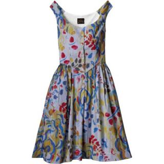 ヴィヴィアンウエストウッド(Vivienne Westwood)の新品・未使用 ヴィヴィアンアングロマニア ドレス ルノアールプリント(ひざ丈ワンピース)