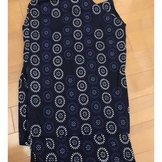 しまむら - しまむら シンプルな小紋柄の浴衣
