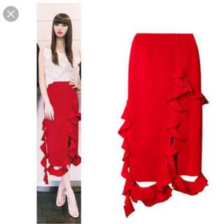 ルシェルブルー(LE CIEL BLEU)のアイレネIRENEタグ付き新品スカート(ひざ丈スカート)
