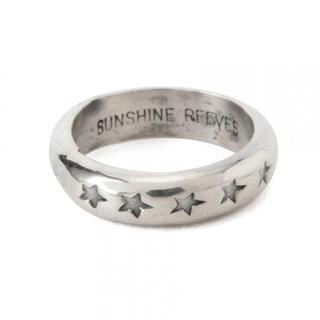 ビームス(BEAMS)のSUNSHINE REEVES スターハーフラウンドリング(リング(指輪))