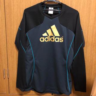 アディダス(adidas)のアディダスロンTシャツ(Tシャツ/カットソー(七分/長袖))