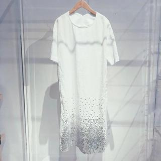 アッシュペーフランス(H.P.FRANCE)のCOSMIC WONDER × Lamp harajuku スペシャルドレス(ひざ丈ワンピース)
