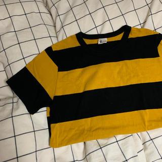 ミックスエックスミックス(mixxmix)のmixxmix ボーダーTシャツ(Tシャツ(半袖/袖なし))